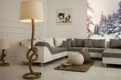 Lampa Podłogowa Seven Seas I Invicta Interior Trendy Furniture, Furniture Design, Home Living Room, Living Room Decor, Summer House Interiors, Mediterranean Decor, Luminaire Design, Manila, Country Decor
