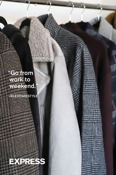 """""""Great essential pieces that can easily go from work to weekend."""""""