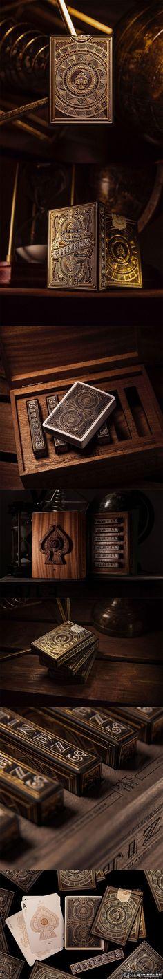 包装设计灵感 精美扑克包装设计 扑克牌包...