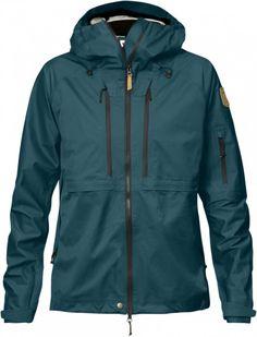Fjällräven Keb Eco-Shell Jacket Women's Glacier Green Skalljakke