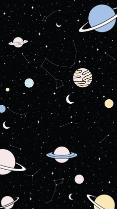 Tumblr Wallpaper, Whats Wallpaper, Space Phone Wallpaper, Dark Wallpaper Iphone, Planets Wallpaper, Iphone Wallpaper Tumblr Aesthetic, Star Wallpaper, Galaxy Wallpaper, Disney Wallpaper