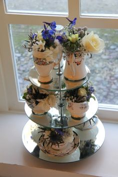 Beautiful Winter Wedding Day at Singleton Lodge for Amanda & Peter Afternoon Tea Wedding, Wedding Flowers, Wedding Day, Flower Designs, Amanda, Table Decorations, Winter, Beautiful, Ideas