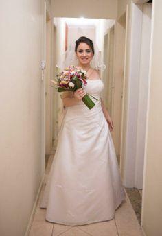 Fernanda veste Vestido de Noiva Bello&Bella Noivas
