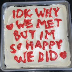 Pretty Cakes, Cute Cakes, Happy We, I Want To Eat, Love Cake, Cute Food, Coconut Flakes, Cool Words, Birthdays
