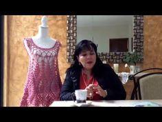 Primera parte blusa de piñas tejida a ganchillo fácil y rápido - tejiendo con Laura Cepeda - YouTube