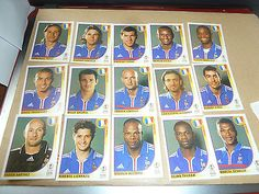 panini - korea-japan #-2002 world cup #-football album #stickers-france players,  View more on the LINK: 	http://www.zeppy.io/product/gb/2/371635313257/