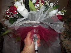 The handle to the bridal bouquet can have as much beauty, design and creativity as the bouquet itself....
