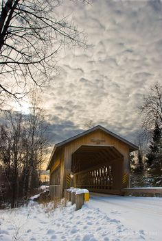 Covered Bridge, somewhere in the world...