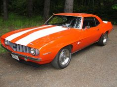 "1969 CAMARO ""HUGGER ORANGE"""