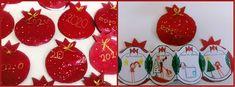 παιχνιδοκαμώματα στου νηπ/γειου τα δρώμενα: το σπάσιμο του ροδιού και χριστουγεννιάτικες αναμνήσεις..... Christmas Bulbs, Holiday Decor, Blog, Christmas Light Bulbs, Blogging