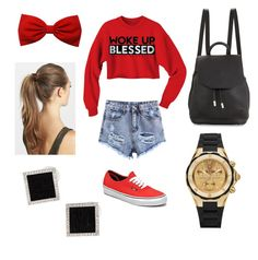 """""""Outfit #6"""" by sierrasaucedo on Polyvore featuring Vans, France Luxe, rag & bone, Michele and Yvel"""