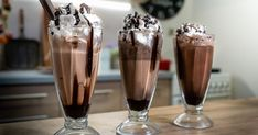 Summer Cakes, Milkshake Recipes, Smoothies, Ice Cream, Pudding, Cooking, Tableware, Food, Youtube