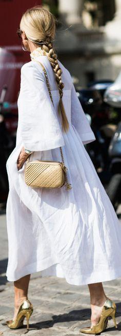 Parisian Chic • Street CHIC • ❤️ Babz ✿ιиѕριяαтισи❀ #abbigliamento