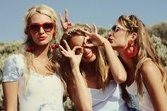 fun in the sun with girlfriends