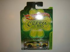 2012 Hot Wheels Clover Cars '65 Mustang 2 2 Fastback Gold/Green by Mattel. $9.97. Kroger Exclusive. 1:64