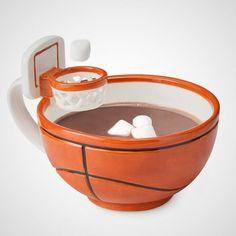 Mug with a Basketball Hoop -Craziest Gadgets Love And Basketball, Basketball Hoop, Basketball Season, Basketball Gifts, Basketball Coach, Basketball Bedroom, Basketball Nails, Street Basketball, Basketball Videos