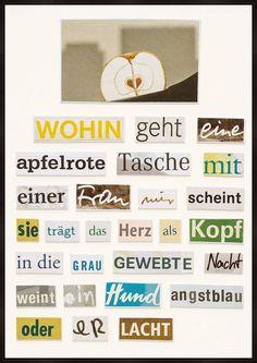 Eine apfelrote Tasche - Herta Müller - Bilder, Fotografie, Foto Kunst online bei LUMAS