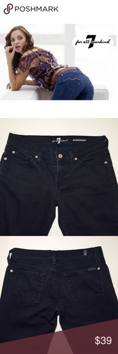 """7 For All Mankind dark grey skinnies Model """" Roxanne"""", JP 179Y534, 008976, skinny. Worn 10 times the most. No damage done. 97% cotton, 2% spandex. Inseam 28.5"""", rise 7.5"""". 7 For All Mankind Jeans Skinny"""