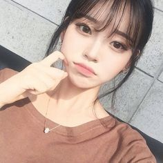 Girls ulzzang and korean image # KoreanMakeupEyeliner # colorful - - Korean Make Up, Cute Korean, Pretty Korean Girls, Korean Beauty, Asian Beauty, Korean Bangs, Asian Bangs, Korean Image, Korean Makeup Tutorials