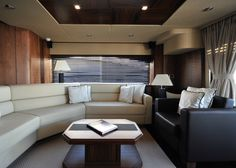 Luxury yachts interior design  Suit interior by CONNORMATT