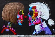 Картинки по запросу граффити портрет лагерфельда