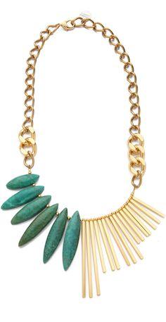 Gemma Redux | Turquoise Asymmetrical Necklace