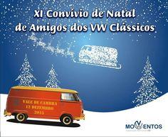 XI Convívio de Natal de Amigos dos VW Clássicos > 12 Dezembro 2015, 14h @ Edifício Municipal, Vale de Cambra