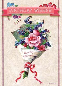 Cartolina - Cartolina card - Birthday Wishes! CC262