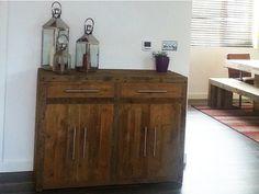 Reclaimed Wood Branson Sideboard #eatsleeplive #handmade #rustic