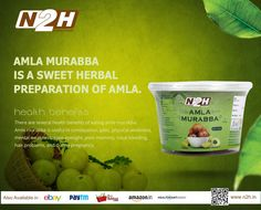 #AmlaMurabba is a #sweet #herbal #preparation of #amla. There are several #healthbenefits of #eating #amlamurabba.  #Amlamurabba is useful in constipation, #piles, #physicalweakness,  #mentalweakness, #pooreyesight, #poormemory, #nasalbleeding,  #hairproblems, and during #pregnancy.