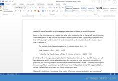 study objective essay