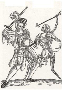 An Averland Greatsword battles against the Undead