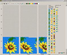 sunflowers crochet | Узоры для вязаных жгутиков-шнуриков 8 ...