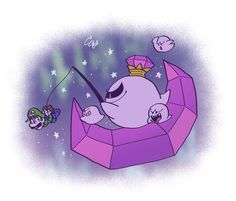 Super Mario And Luigi, Super Mario Art, Super Mario Brothers, Mario Bros, Game Character, Character Design, King Boo, Meaningful Pictures, Luigi's Mansion