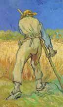 Van Gogh, Il mietitore #Leucò/14