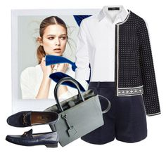 """""""Fall Loafers"""" by m-jelic ❤ liked on Polyvore featuring Steffen Schraut, 3.1 Phillip Lim, Tory Burch, Fendi and Gucci"""