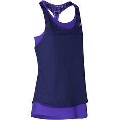Women s Energy Fitness 2 in 1 Tank Top Dark Blue - Decathlon 3bb51cc38f