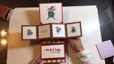 Cardmaking 5 Different Holiday cards 1 Stamp set 1 6x6 - YouTube