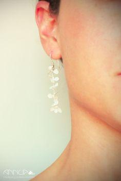 AnnuA tocados y complementos para novias, invitadas, bodas y fiestas Earrings, Jewelry, Fashion, Fascinators, Hand Made, Weddings, Boyfriends, Chic, Fiestas