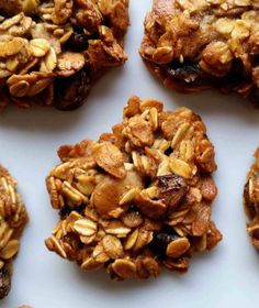 Delicious muesli cookies – a different muesli bar - Danish Things Vegetarian Barbecue, Barbecue Recipes, Vegetarian Cooking, Vegetarian Recipes, Veggie Recipes, Baking Recipes, Veggie Food, Muesli Bars, Norwegian Food