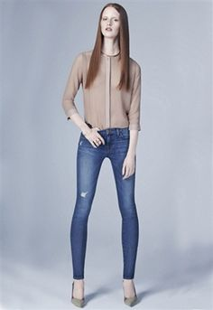 J Brand Distressed Super Skinny Jean| ShopAmbience
