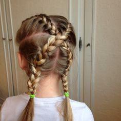 coiffure simple pour petite fille : inscrivez vous à ma newsletter pour recevoir de nouvelles idées ! site : une girly, un jour, une coiffure