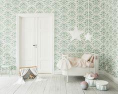 Babykamer Behang Groen : Beste afbeeldingen van groene kinderkamers child room