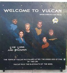 Vulcan Tourism & Trek Station, Vulcan, Alberta, Canada