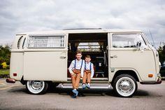 Floral Hall Wedding - Staffordshire WEdding Photography - Gemma & Dan-465 Wedding Transport - VW Campervan