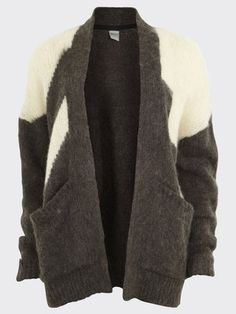 I just might have to follow this baggy cardigan trend...thus would be cute with some skinnys and booties MONROE EX KNIT CARDIGAN