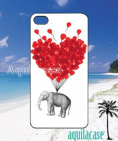 Love carries elephant   iPhone 4/4s/5 Case  Samsung by AquilaCase, $15.00