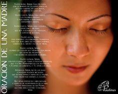Oración de una madre por sus Hij@s.