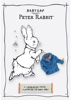Anita Calero For Baby Gap Peter Rabbit Limited Edition