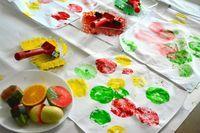 fabric fruit prints